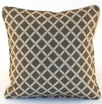 Lattice Throw Pillow Cover