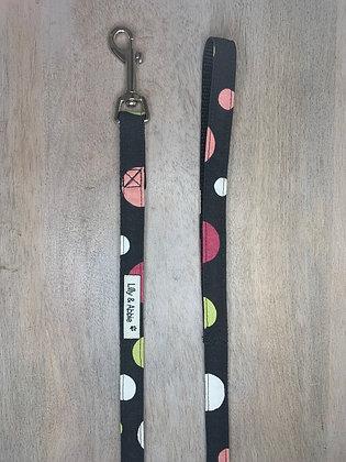 Dog Leash - Colored Dots