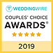 2019 Wedding Wire Bride and Groom's Awar