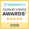 2019 Wedding Wire Bride and Groom's Awar