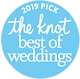 The Knot 2019 Best of Weddings Badge (12