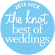 The Knot 2018 Best of Weddings Badge (12
