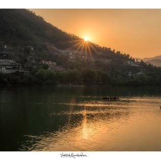 An evening in Bhimtal