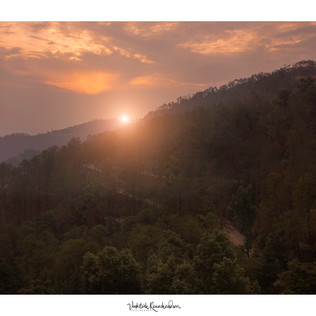 A sunrise from Kausoni