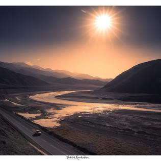 A Sunrise near Chumathang
