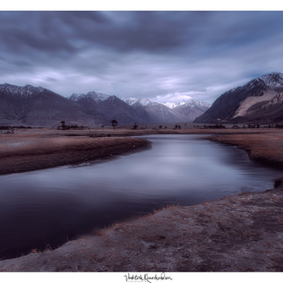 Nubra Valley Long exposure