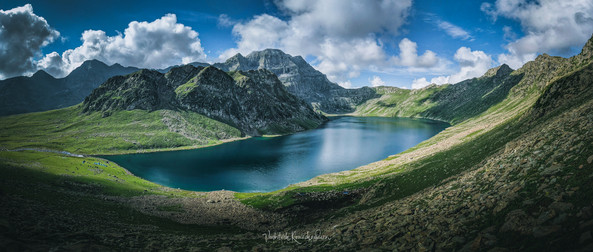 Tarsar Lake Pano
