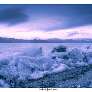 TSO MORRI Lake Sunset