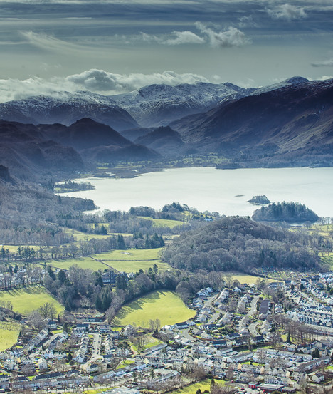 A Pano view from Latrigg