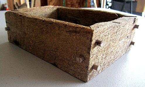 Reclaimed Oak Box