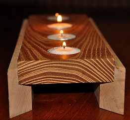 Maple and Locust Candle Runner