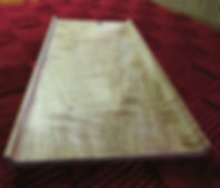 Curly Maple Serving Tray
