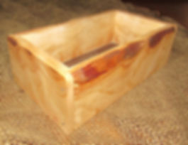 Live Edge Curly Cherry Keepsake Box