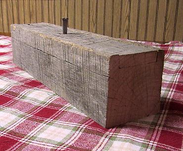 Reclaimed Barn Beam Candle Box