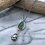 Thumbnail: Sky Song Turquoise Pinecone Necklace No. 3