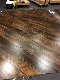 Medium wood color