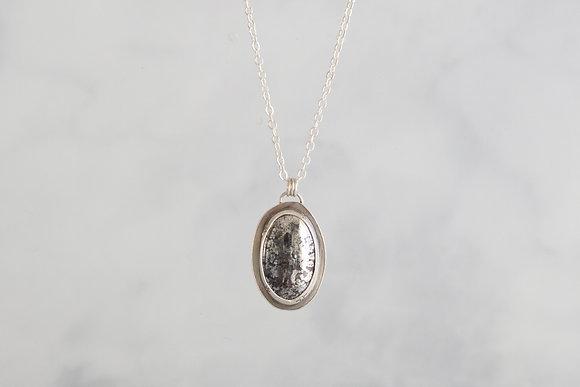 """""""Light"""" Native Silver Necklace"""