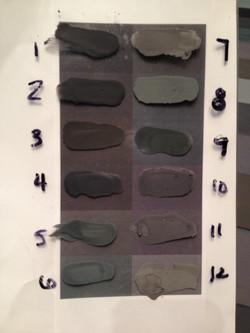 color samples for tile