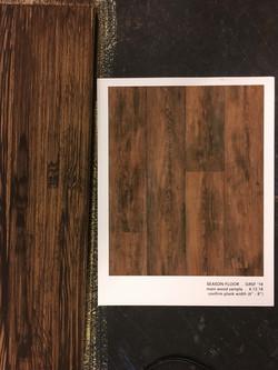 Medium wood sample