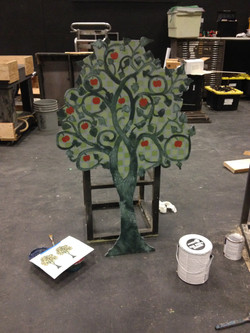finished players tree