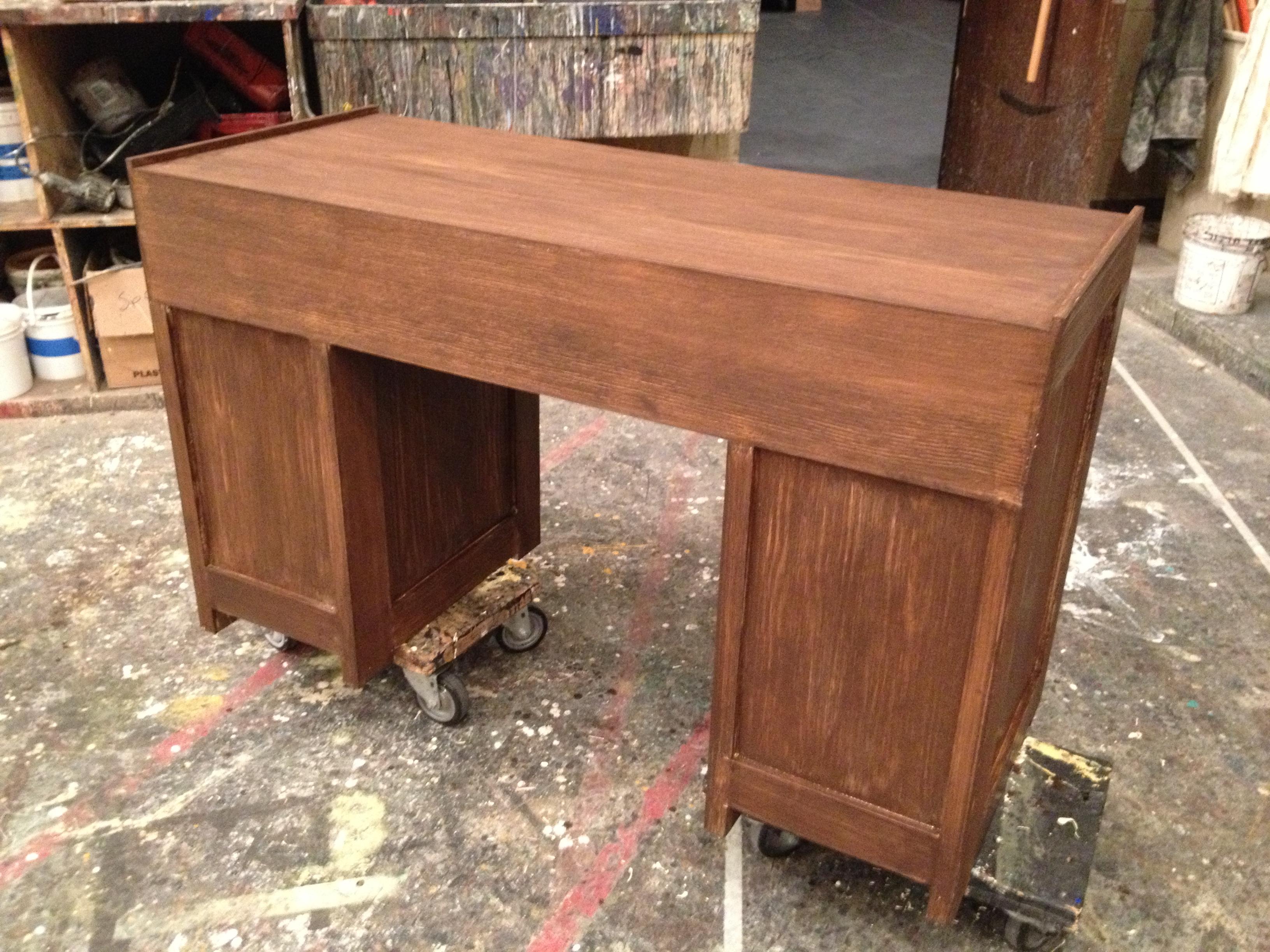 """""""Urinetown"""" desk"""