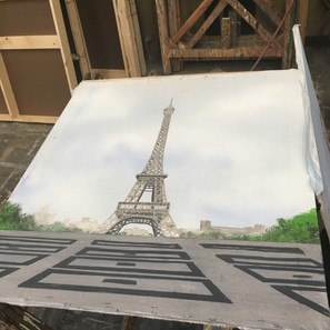 Paris Translucency from Front