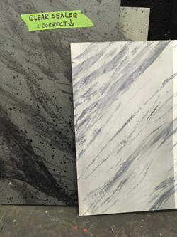 All's Well ... marble samples