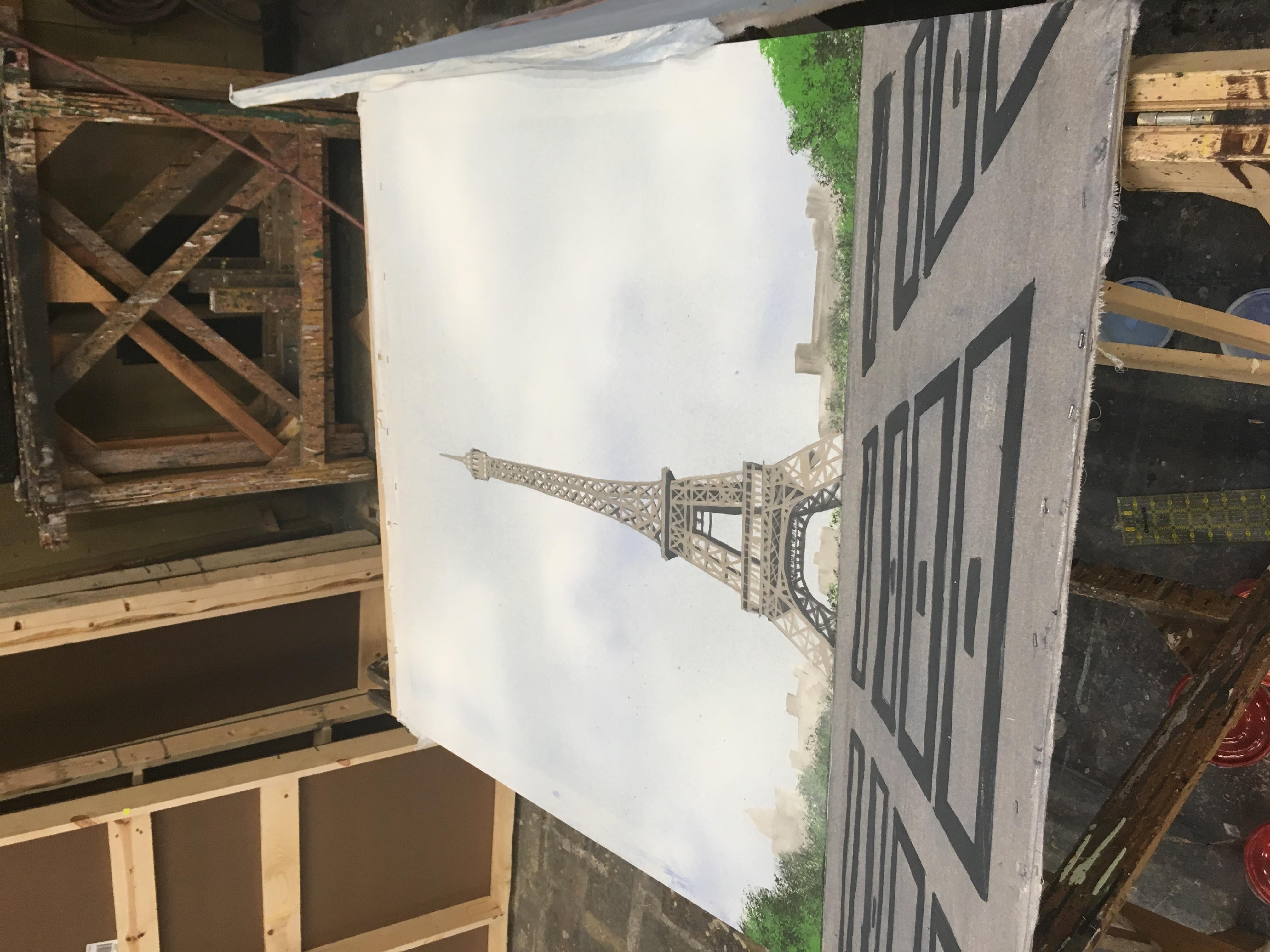 Front of Paris Translucency