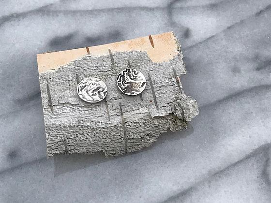 Sterling Silver Sand Dune Earrings
