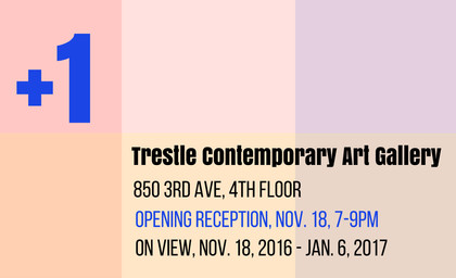 +1 at Trestle Contemporary Art Gallery