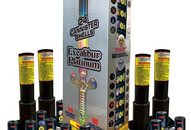 EXCALIBUR PLATINUM - 24 SHOTS