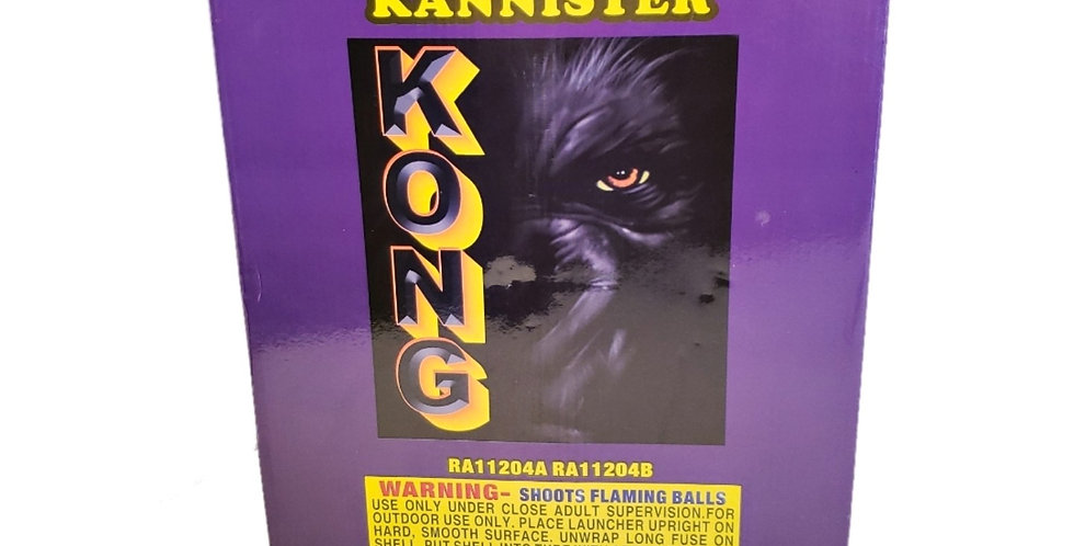 KONG KING OF THE KANNISTER - 12 SHELLS