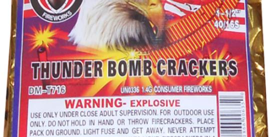 THUNDER BOMB CRACKERS - 40/16