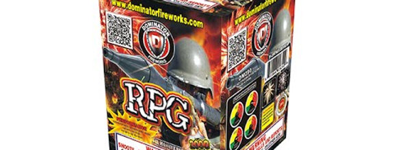 RPG 7 shot - Dominator Fireworks