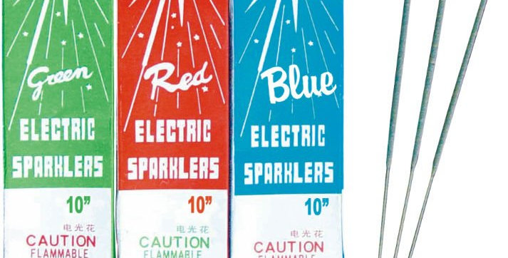 #10 ELECTRIC SPARKLER