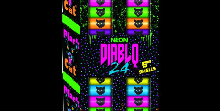"""NEON DIABLO 5"""" SHELLS"""