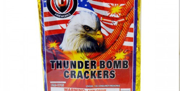 THUNDER BOMB CRACKERS - 80/16