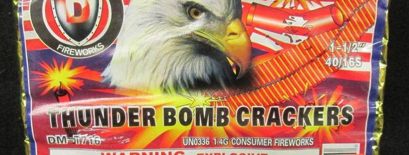 THUNDER BOMB CRACKER 40/16