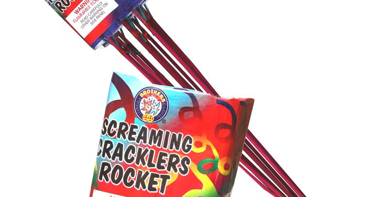 Screaming Cracklers Rocket