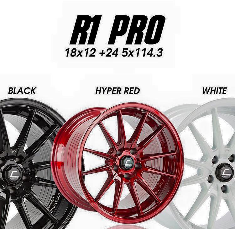 Cosmis R1 PRO 18x12 +24 Now Available!