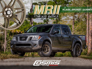 Cosmis MR-II 17x8 +15 ( 6x114.3 PCD ) New Release !