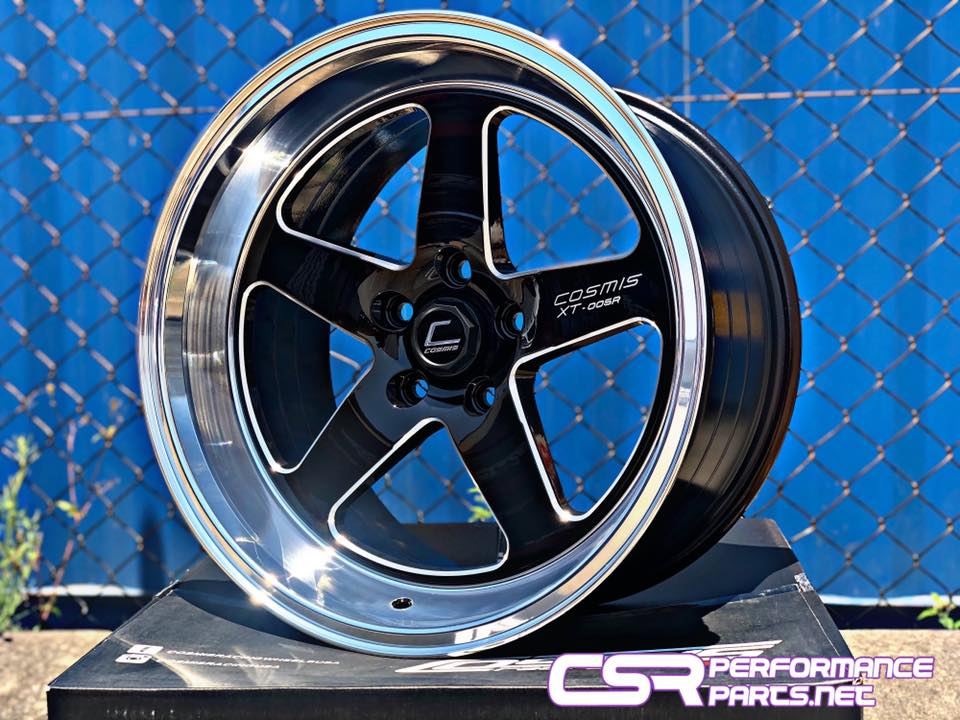 Cosmis XT005R Black Machined Lip