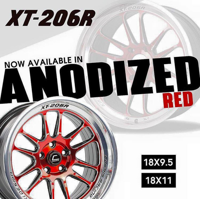 Cosmis XT206R Anodised Red Finish !