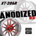 Cosmis XT206R Anodised Red Finish !