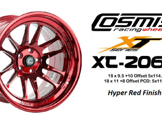 Cosmis XT206R Hyper Red & Gold Finish !