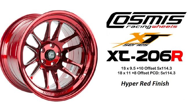 Cosmis XT206R Hyper Red & Gold Finish !