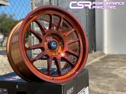 Custom Powder Coat Finish Copper Trans