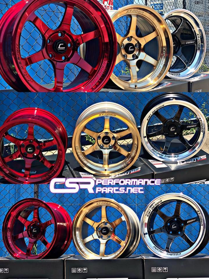 Cosmis XT006R Hyper Red, Bronze,