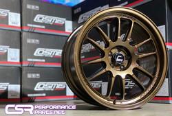 Cosmis XT206RFF Custom Powder Coat - Bronze Chrome