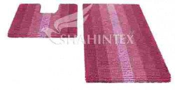 Набор ковриков д/в SHAHINTEX MULTIMAKARON 60*90+60*50 розовый